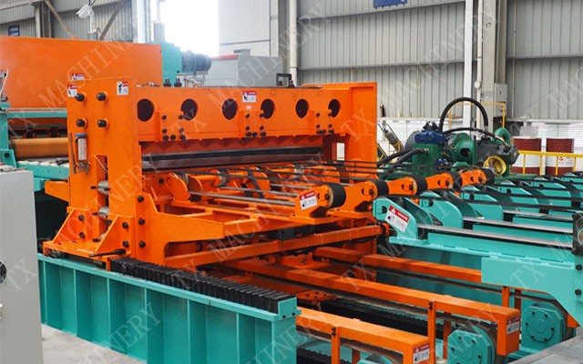 flying shear cutting machine
