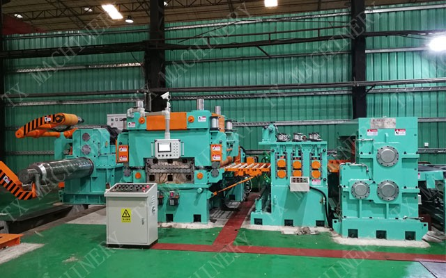 rotary shear cutting machine