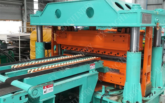 trapezoidal cutting machine