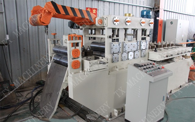 steel flat bar cutter machine
