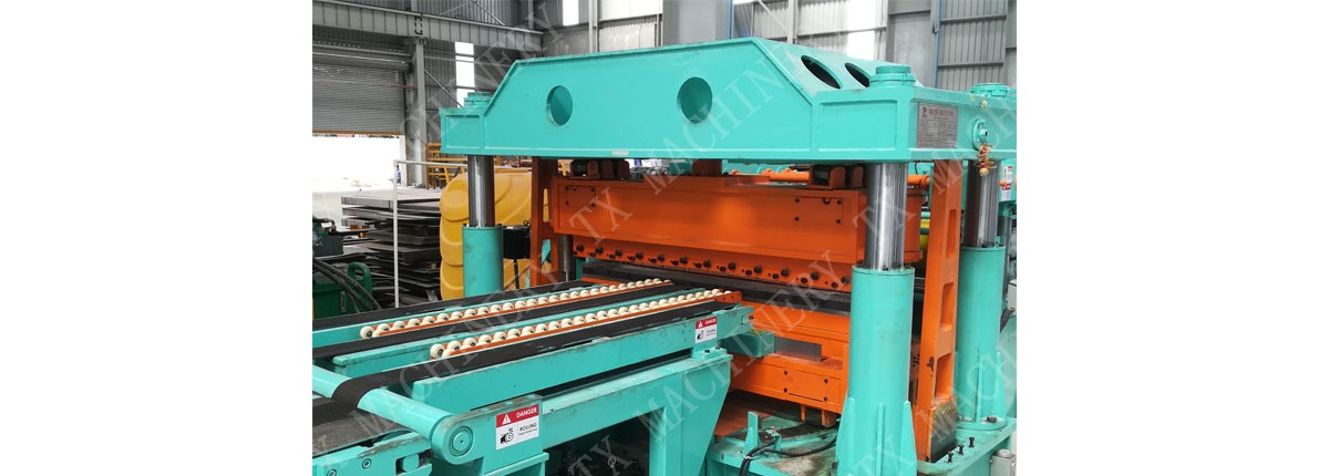 trapezoidal shear cutting machine