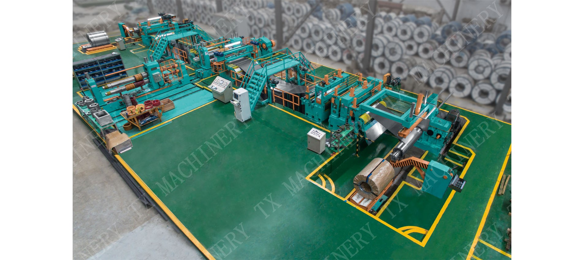medium gauge slitting line