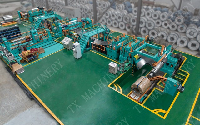 light gauge slitting line