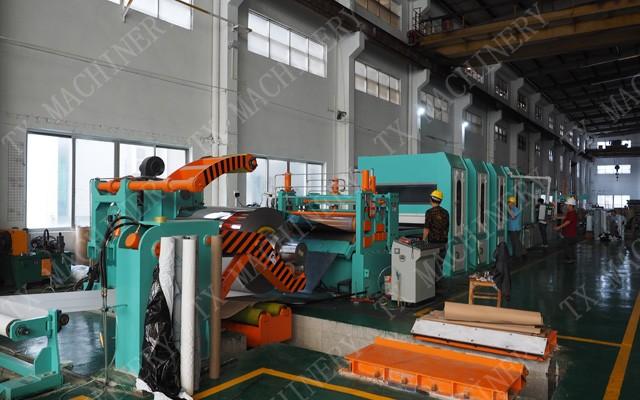 S.S. polishing line